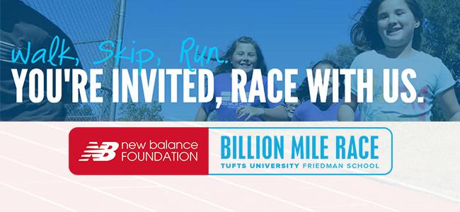 Billion Mile RaceSlide title