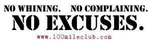 No Excuses Sticker