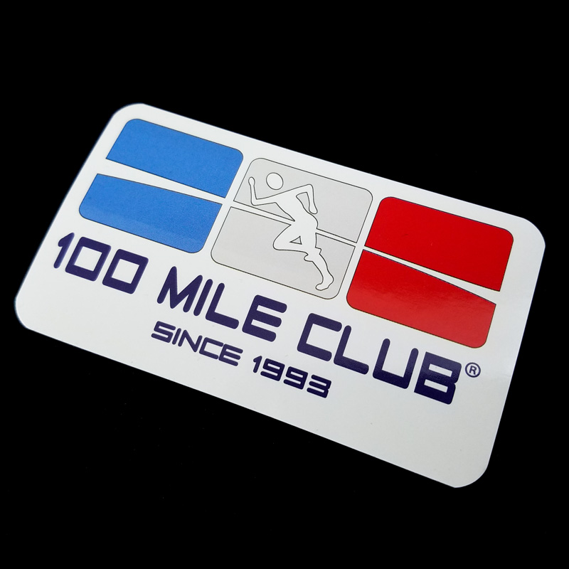 sticker_100_mile_club_logo