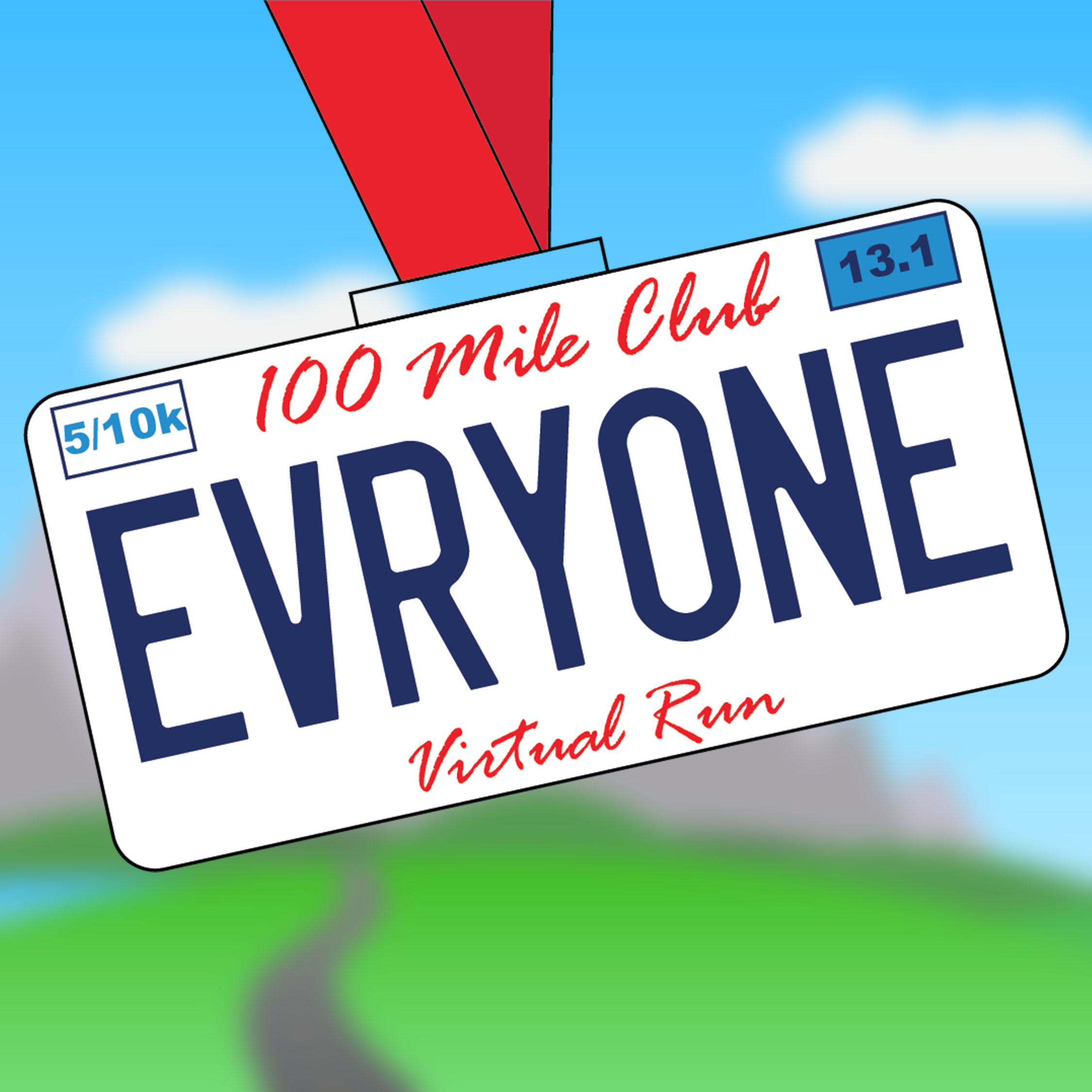 100 Mile Club Presents EveryONE Virtual Run!