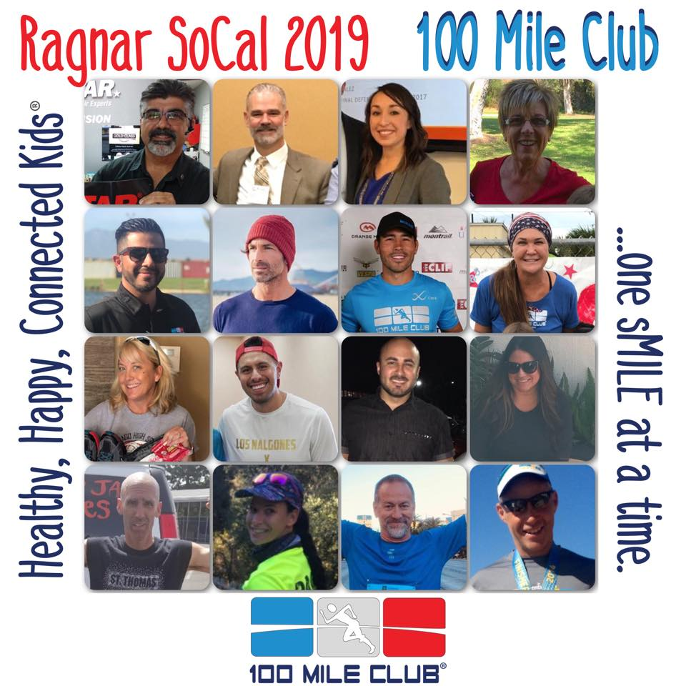 "Introducing ""Team 100 Mile Club"" at Ragnar SoCal 2019"