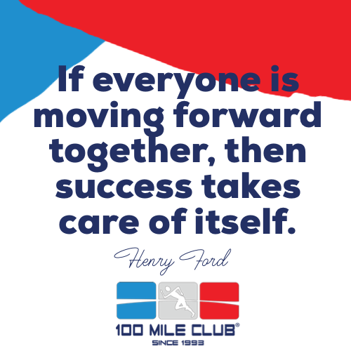 Keep it Movin' with the 100 Mile Club 26-Day Challenge!